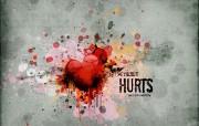受伤的心 爱情主题CG设计壁纸 爱的心爱情主题CG设计壁纸 插画壁纸
