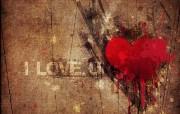 我爱你 爱情主题CG设计壁纸 爱的心爱情主题CG设计壁纸 插画壁纸