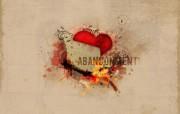 心形图片 放弃的心 爱情主题CG设计壁纸 爱的心爱情主题CG设计壁纸 插画壁纸