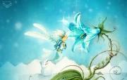 阿狸的童话插画壁纸 Computer Design Illustration of Fairy Tale 阿狸的梦之城堡 插画壁纸