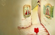 阿狸的梦之城堡 壁纸3 阿狸的梦之城堡 插画壁纸