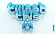 Tweet this桌面壁纸 Archigraphs创意3D动物插画设计壁纸 插画壁纸