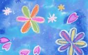 彩色CG背景 插画壁纸