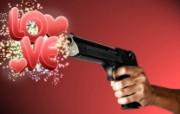 Love Gun 个性电脑设计壁纸 1600 1200 插画设计大杂烩第十三辑 插画壁纸