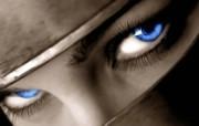 Blue Eyes 创意个性合成壁纸 1600 1200 插画设计大杂烩第十三辑 插画壁纸