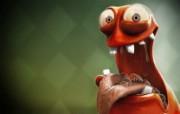 CG插画设计大杂烩 第十二辑 beaulieu 超创意怪兽插画壁纸 插画设计大杂烩十二 插画壁纸