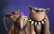 CG插画设计大杂烩 第十二辑 古怪动物 潮流个性插画壁纸 插画设计大杂烩十二 插画壁纸
