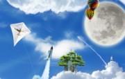 CG插画设计大杂烩 第十二辑 Sky 潮流个性插画设计壁纸 插画设计大杂烩十二 插画壁纸