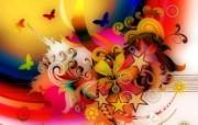 CG插画设计大杂烩 第十二辑 Flowers 潮流个性插画设计壁纸 插画设计大杂烩十二 插画壁纸
