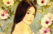 陈淑芬平凡自选插画集壁纸第一辑 插画壁纸