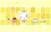 Copy Cat 甜蜜系列 没有人桌面壁纸 Copy Cat 烤猫卡通壁纸 插画壁纸