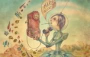 俄罗斯风格人物插画壁纸 俄罗斯 Miriam Moshinsky 插画壁纸 插画壁纸