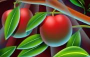 丰盛美食 美食主题电脑绘画 樱桃 美食主题电脑绘画壁纸 1920 1200 丰盛美食美食主题电脑绘画 插画壁纸