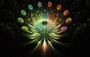 纯数学产物 数学的艺术 创意分形艺术图案 分形艺术创作壁纸三 插画壁纸