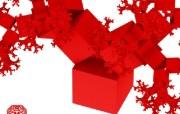 纯数学产物 3D立体分形艺术图案 3D Fractal Art Pythagoras Tree 分形艺术创作壁纸三 插画壁纸