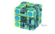 纯数学产物 3D立体分形艺术图案 3D Fractal Art Toy Cube 分形艺术创作壁纸三 插画壁纸