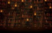 Google 图书馆 Vladstudio 创意设计壁纸 高清晰Vladstudio 壁纸 二创意可爱插画篇 插画壁纸