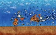 高清晰Vladstudio 壁纸 三 创意可爱插画篇 音乐力量 Vladstudio 创意插画壁纸 高清晰Vladstudio 壁纸三创意插画篇 插画壁纸