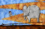 高清晰Vladstudio 壁纸 三 创意可爱插画篇 跷跷板 Vladstudio 创意插画壁纸 高清晰Vladstudio 壁纸三创意插画篇 插画壁纸