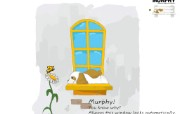 韩国AURORA卡通系列 murphy小狗 韩国可爱卡通小狗 murphy Desktop wallpaper Cartoon Puppy 韩国AURORA卡通系列murphy小狗 插画壁纸