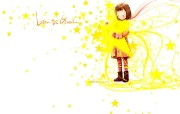 韩国插画名家 Webjong 甜美女孩插画 三 拥抱心愿 Webjong可爱小女孩插画 韩国插画名家Webjong 甜美女孩插画三 插画壁纸