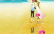韩国插画名家系列Christian Asuh恋爱的味道 插画壁纸