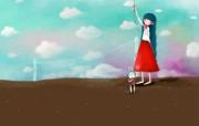 韩国插画名家系列echi 插画壁纸二 插画壁纸
