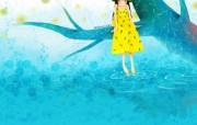 韩国插画名家系列echi 作品壁纸第一辑 插画壁纸