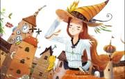 韩国插画名家系列Saram的童话 插画壁纸