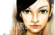 HARU Art Work calender 韩国插画 HARU digital paintings 韩国HARU插画月历 插画壁纸