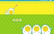 韩国卡通壁纸 I LOVE EGG 可爱蛋蛋 韩国卡通 可爱蛋蛋I LOVE EGG Desktop Wallpaper of Cartoon Eggs 韩国卡通壁纸I LOVE EGG 可爱蛋蛋 插画壁纸