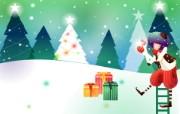 韩国矢量插画 缤纷奇幻乐园 卡通矢量插画 圣诞节礼物 1920 1200 韩国矢量插画缤纷奇幻乐园 插画壁纸