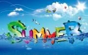 彩色夏日 韩国创意设计壁纸 韩国唯美精品CG设计集 插画壁纸