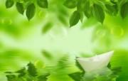 绿色湖 韩国精美PS设计壁纸 韩国唯美精品CG设计集 插画壁纸