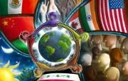 同一个世界 韩国精品CG壁纸 韩国唯美精品CG设计集 插画壁纸