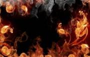 火焰花纹 1920 1200 火焰效果设计壁纸 插画壁纸