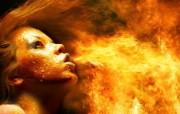 火焰人物 1920 1200 火焰效果设计壁纸 插画壁纸