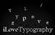 I Love Typography 宽屏设计壁纸 I Love Typography桌面壁纸 I Love Typography 宽屏设计壁纸 插画壁纸