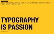 I Love Typography 宽屏设计壁纸 Typography is Passion桌面壁纸 I Love Typography 宽屏设计壁纸 插画壁纸