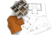 住宅建筑3D设计蓝图 建筑蓝图 插画壁纸