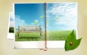 精彩创意 春天主题设计壁纸 创意装饰画 韩国创意设计插画壁纸 1920 1200 精彩创意春天主题设计壁纸 插画壁纸