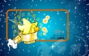 星座 天秤座壁纸 图片Libra Astrology Horoscopes Wallpaper 卡通12星座壁纸 插画壁纸