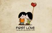 卡通爱情主题壁纸 插画壁纸