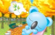 卡通喷绘动物壁纸 Desktop Wallpaper of Cartoon Animal 卡哇伊喷绘动物壁纸 插画壁纸