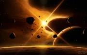 Denebola 狮子座β 科幻宇宙星球CG壁纸 插画壁纸