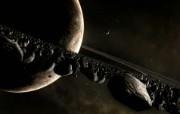 The Ring 宇宙星球CG图片1920 1200 科幻宇宙星球CG壁纸 插画壁纸