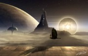 Supremus Lucernarium 科幻宇宙星球CG壁纸 插画壁纸
