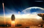 Genesis 1920 1200 科幻宇宙星球CG壁纸 插画壁纸