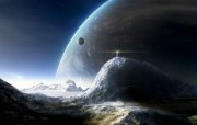 HD Digital Art of Universe and Planets 1920 1200 科幻宇宙星球CG壁纸 插画壁纸