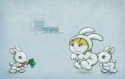 KittenDream 奇童梦乐2009年卡通壁纸 插画壁纸